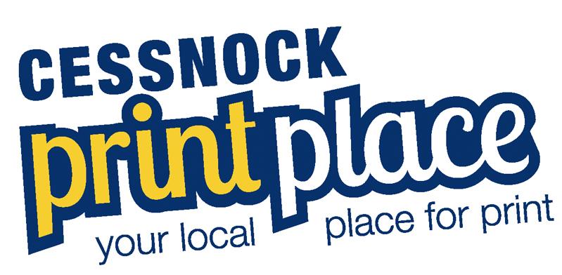 Cessnock Print Place | Graphic Design & Printing Logo
